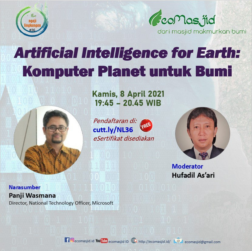 Artificial Intelligence for Earth: Komputer Planet untuk Bumi